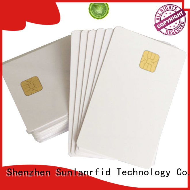 Sunlanrfid Brand ic smart card contact contact card