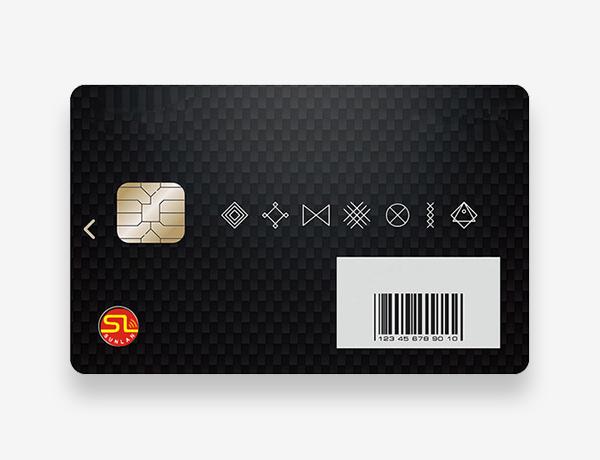 CR80 Contact Smart Card