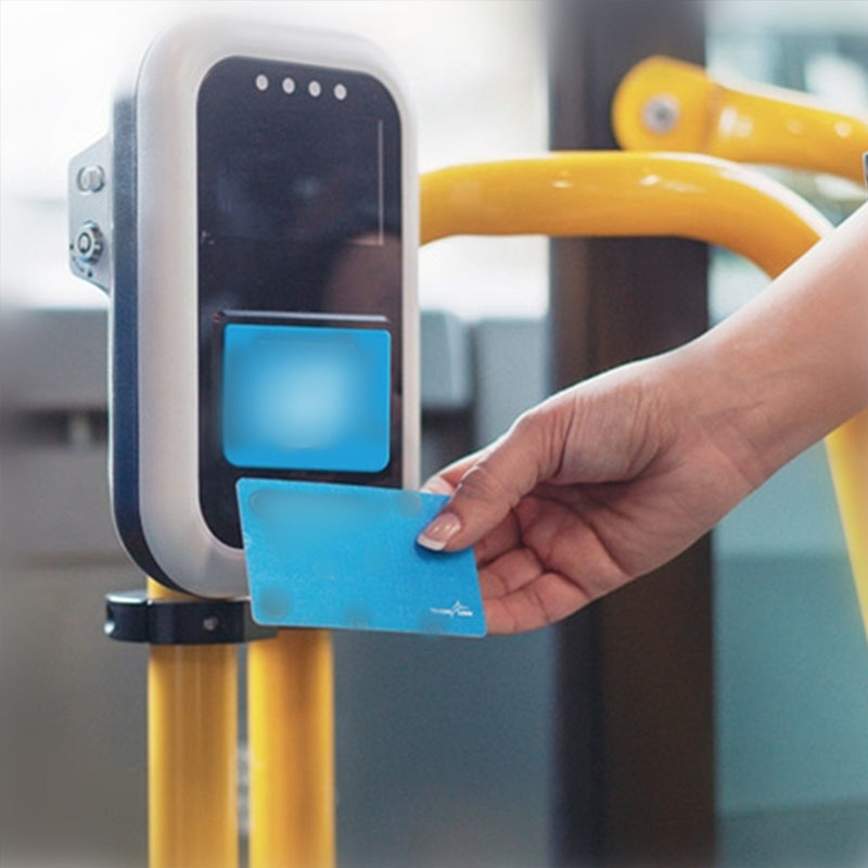 Bus and Metro smart card with MIFARE® Plus SE