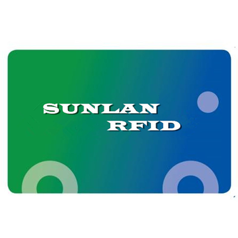 PVC or PET Ultra Thin Ticket Card with MIFARE Ultralight Chip