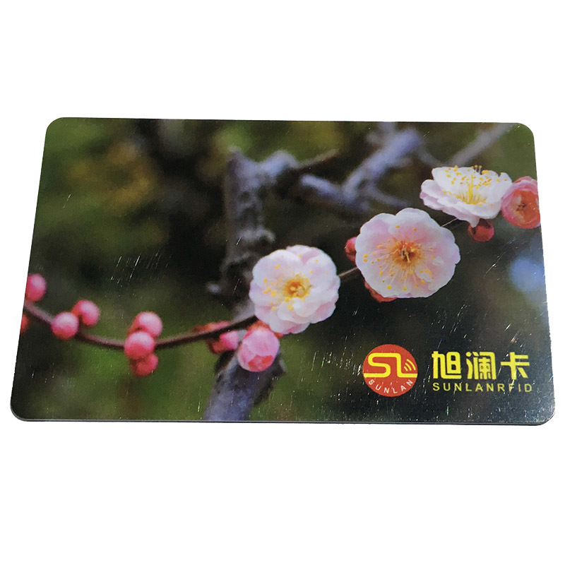 CMYK printing TK4100 printed card from Sunlanrfid.