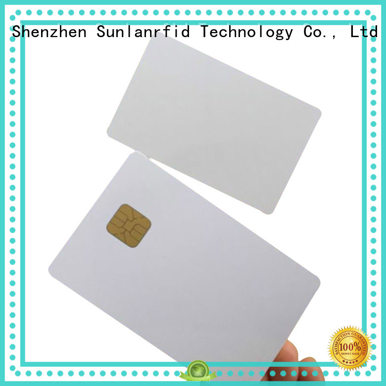 contact ic card ic contact smart Sunlanrfid Brand contact card