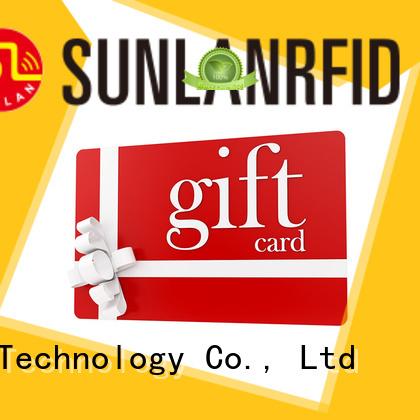 Wholesale ultralight® rfid loyalty card ntag213 Sunlanrfid Brand