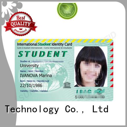 Sunlanrfid Brand icode rfid student id card chip supplier