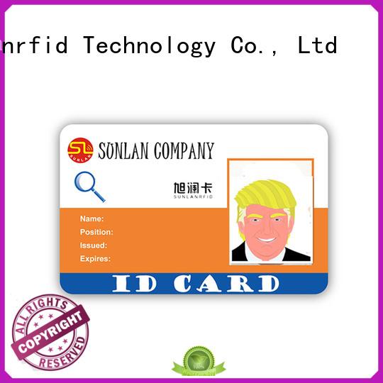 Quality Sunlanrfid Brand rfid student id card student
