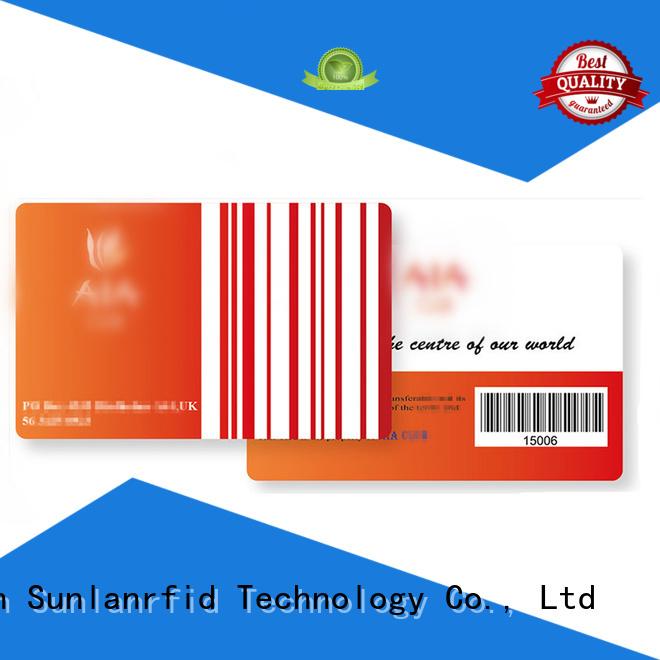Hot loyalty rfid loyalty card nano Sunlanrfid Brand
