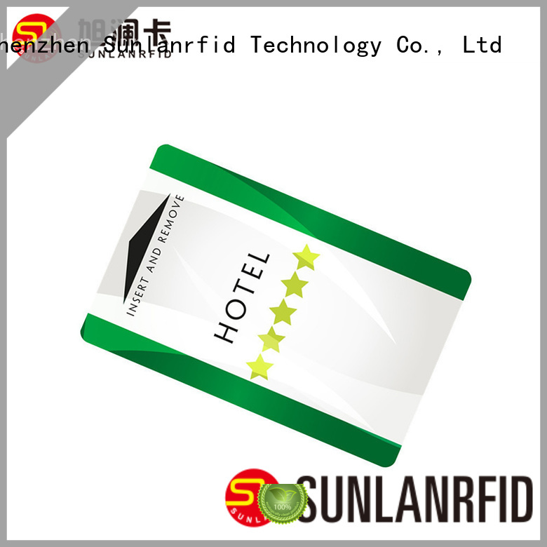 Quality Sunlanrfid Brand card room key card