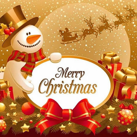Merry Christmas for the new year - SUNLANRFID