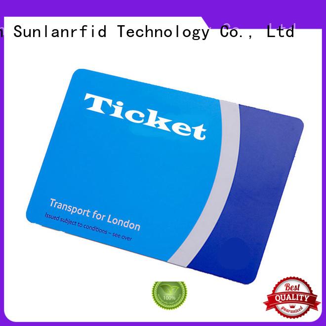 Hot transit rfid bus card ultralight Sunlanrfid Brand