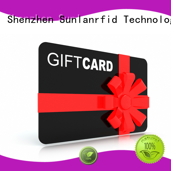 rfid loyalty card ev1 pvc ntag213 Sunlanrfid Brand