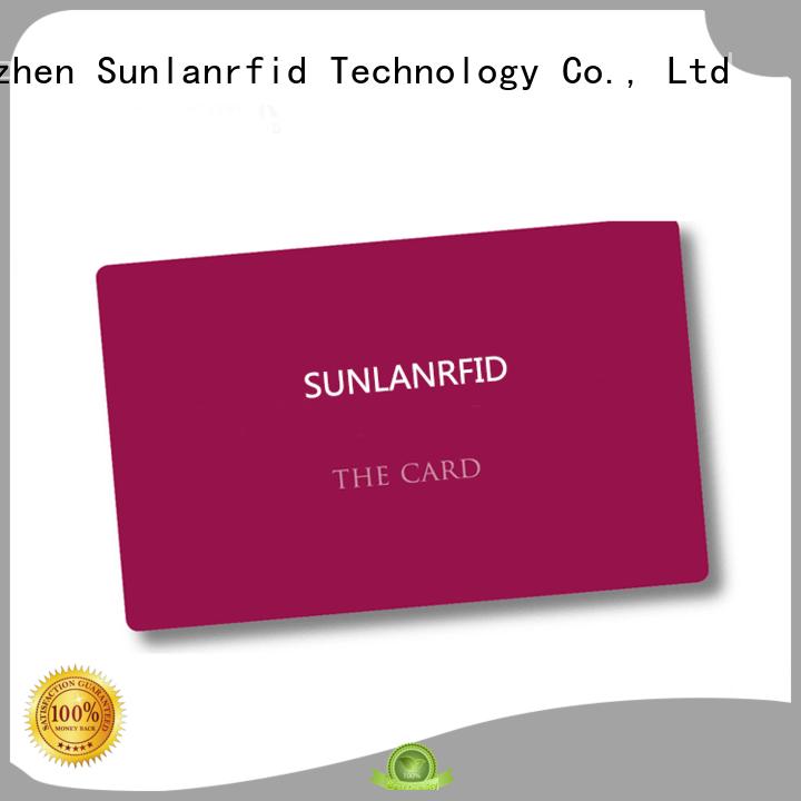 Sunlanrfid Brand card student icode rfid student id card chip